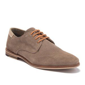 MODERN FICTION Perforated Suede Plain Toe Derby